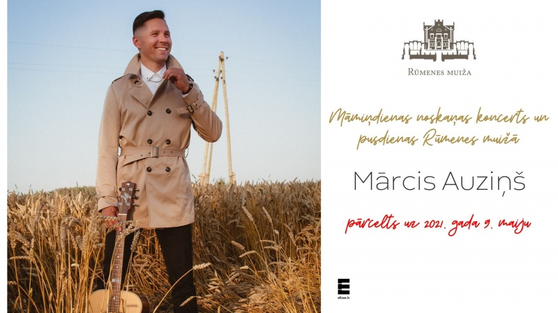Marcis Auzins. Mothers Day concert | 10.05.2020